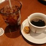 キャプテンズクック・アズーロ - ホットコーヒーに・・・これ?アイスティー