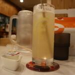 サルタヒコ - オーガニックレモネード(350円)