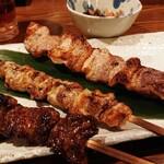 やきとり居酒屋伊達祭 - 料理写真:ジャンボ串