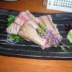 鮨市 - 料理写真:中トロの炙りの刺身