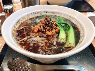 紀州清流担々麺 produce by KEISUKE - 黒胡麻の坦々麺(税込950円)