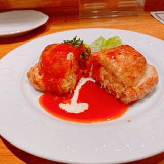 メリメロ亭 - ズワイ蟹クリームパイ包焼き