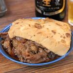 正ちゃん - 2012.8 牛煮込み(450円)肉より豆腐が美味しいです