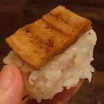 142921464 - 穴子、箱寿司