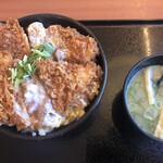 ごはん処 かつ庵 - 料理写真:ささみカツ丼490円(税抜)
