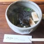 14293042 - 「よもぎ蕎麦」(785円)