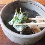 14293046 - よもぎの天ぷらが入ってたぁ♪