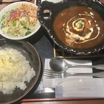 ふじむら精肉店 - 料理写真:ビーフシチューセット ご飯は普通