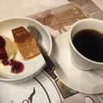 炭火シュラスコ Gostoso - デザートもちゃんと美味しい(これ大切)珈琲も美味でした!