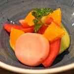 レ・ピコロ - 佐賀あいちゃん農園野菜のピクルス