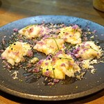 レ・ピコロ - 石川産!真フグのカルパッチョ、山ワサビの香り