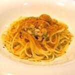 レ・ピコロ - 白子とカラスミ、実山椒のペペロンチーノ