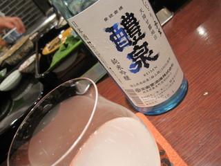 北新地 弧柳 - 岐阜の酒、醴泉 500ml 2500円 2012/05