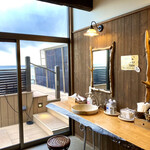磯原シーサイドホテル - 天空露天風呂の脱衣所