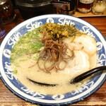hakatara-menshinshin - 高菜らーめん