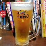 五坪 - ビール 500円