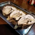 五坪 - 追加の蒸し牡蠣