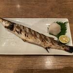 UOMARU - ・生かます塩焼 1,200円
