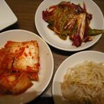 韓国料理 ビビム - 3品の日替わりおかず