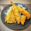 ふじた - 料理写真:フライ盛合せ!鮮魚店併設だけあって中の魚介が活きてます!