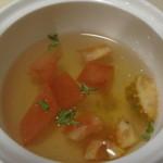 アルベロ - 料理写真:冷たいスープ
