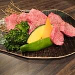 上杉 - 料理写真:厚切り上タン塩