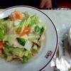 中山飯店 - 料理写真:海老焼きそば 上から