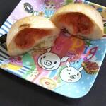 伽羅リエゾン - 明太バター 断面 100円