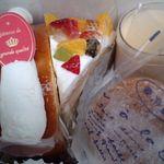 レ・サンク - 料理写真:箱の中