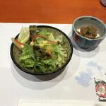 Uotake - サラダと豆腐
