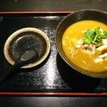 蕎麦切り くろ - カレー南蛮(800円)