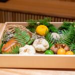 兎屋 - この日の食材