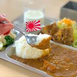 呉 ハイカラ食堂 - そうりゅうカレー甘口