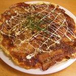 お好み焼き こてつ - 大阪風チーズもち