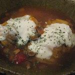 カフェ 呂久呂 - ロールキャベツのトマトスープ煮