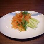Ginzakamonka - クラゲの冷菜