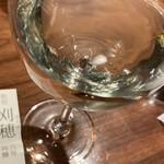 ぬる燗佐藤 大坂 - 日本酒吟醸酒 (*´∀`*) グラス 刈穂