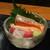北の味紀行と地酒 北海道 - いか、まぐろ、サーモンの刺身