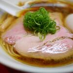 神保町 黒須 - 味玉醤油蕎麦