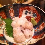 味酒 小町 - ハモ焼霜  950円