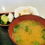 富士アイス - 料理写真:汁物など