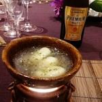 Happouembanketto - じゃが芋のニョッキ、蓴菜のボンゴレソース