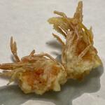 天麩羅 わ田 - 海老の天ぷら