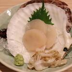 海鮮処 函館山 - 料理写真:ほたて刺身
