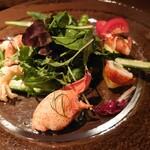 ビストロ シャンパーニュ - オマール海老のサラダ