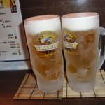 串鉢 - 生ビール
