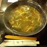 Inakasobamiyuki - カレー蕎麦¥750