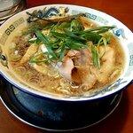 もんど - 蔵出し醤油麺 麺大盛1.5玉 税込800円+110円