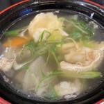 回転寿し トリトン - 鯛の味噌汁