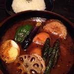 ラグーン - 厚切り豚バラ肉のポークスープカレー